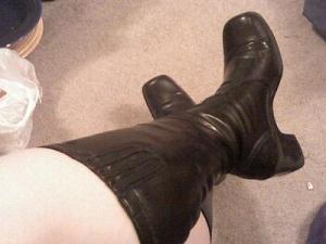 Boots Crossed